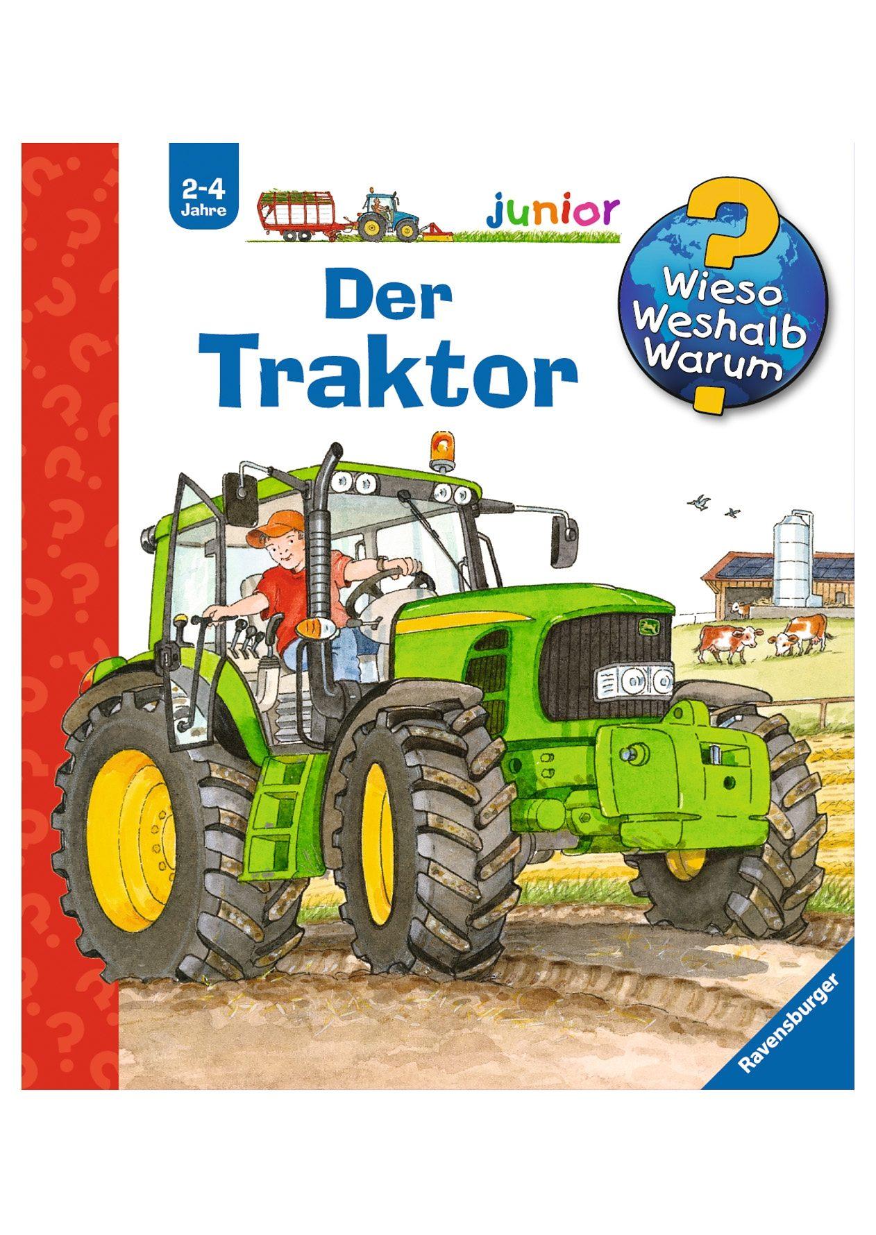 Ravensburger Kinderbuch, »Der Traktor / Wieso? Weshalb? Warum? Junior«