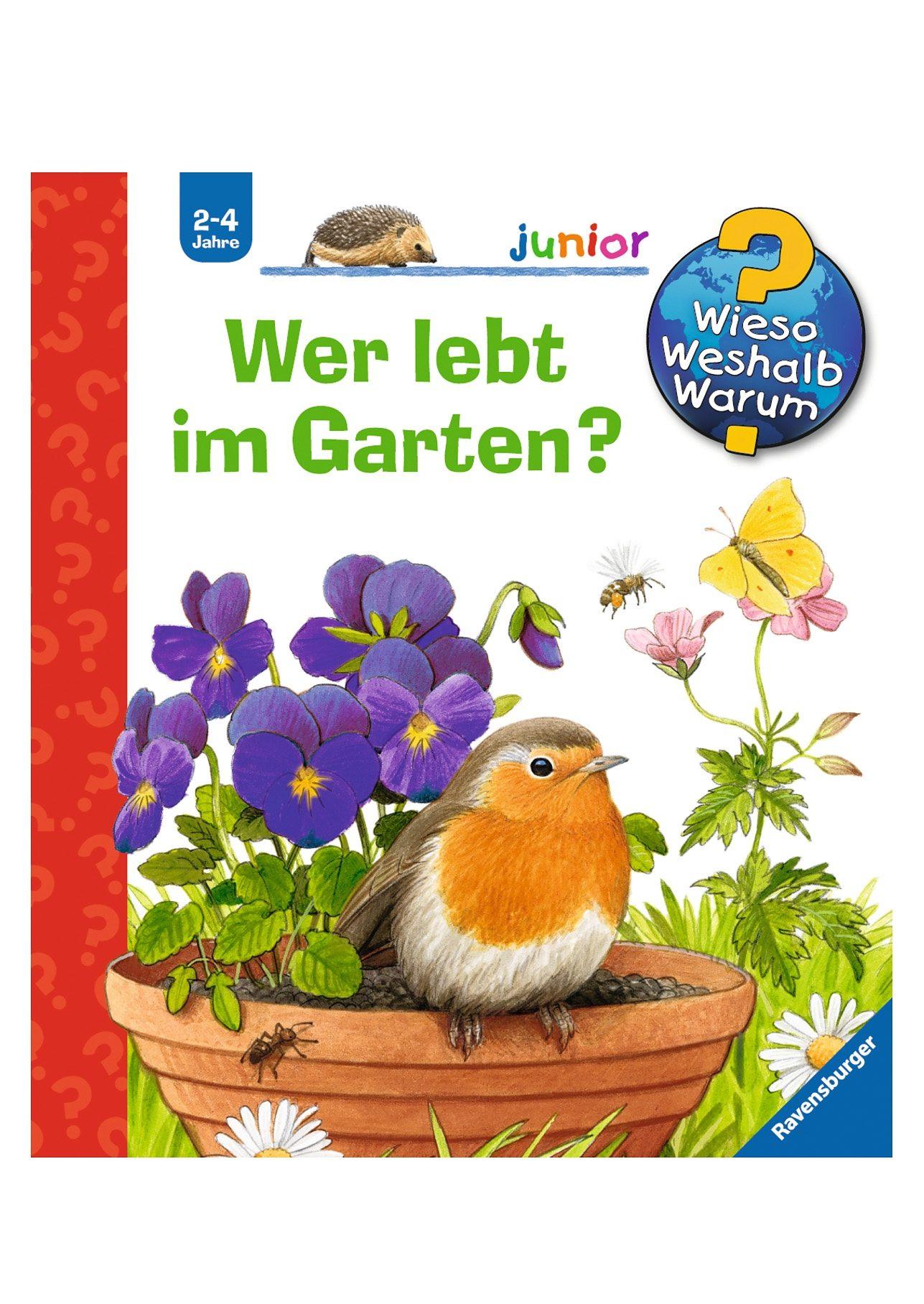 Ravensburger Kinderbuch, »Wer lebt im Garten / Wieso? Weshalb? Warum? Junior«