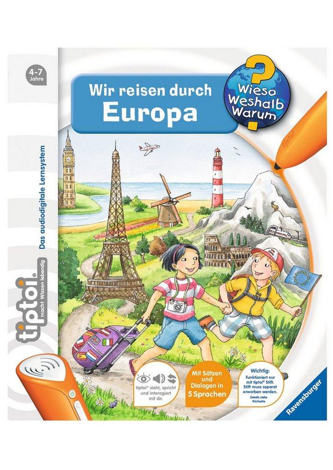 Ravensburger Buch, »tiptoi® Wir reisen durch Europa«