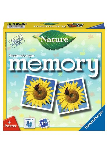 Ravensburger Spiel, »Nature memory®«, Made in Europe