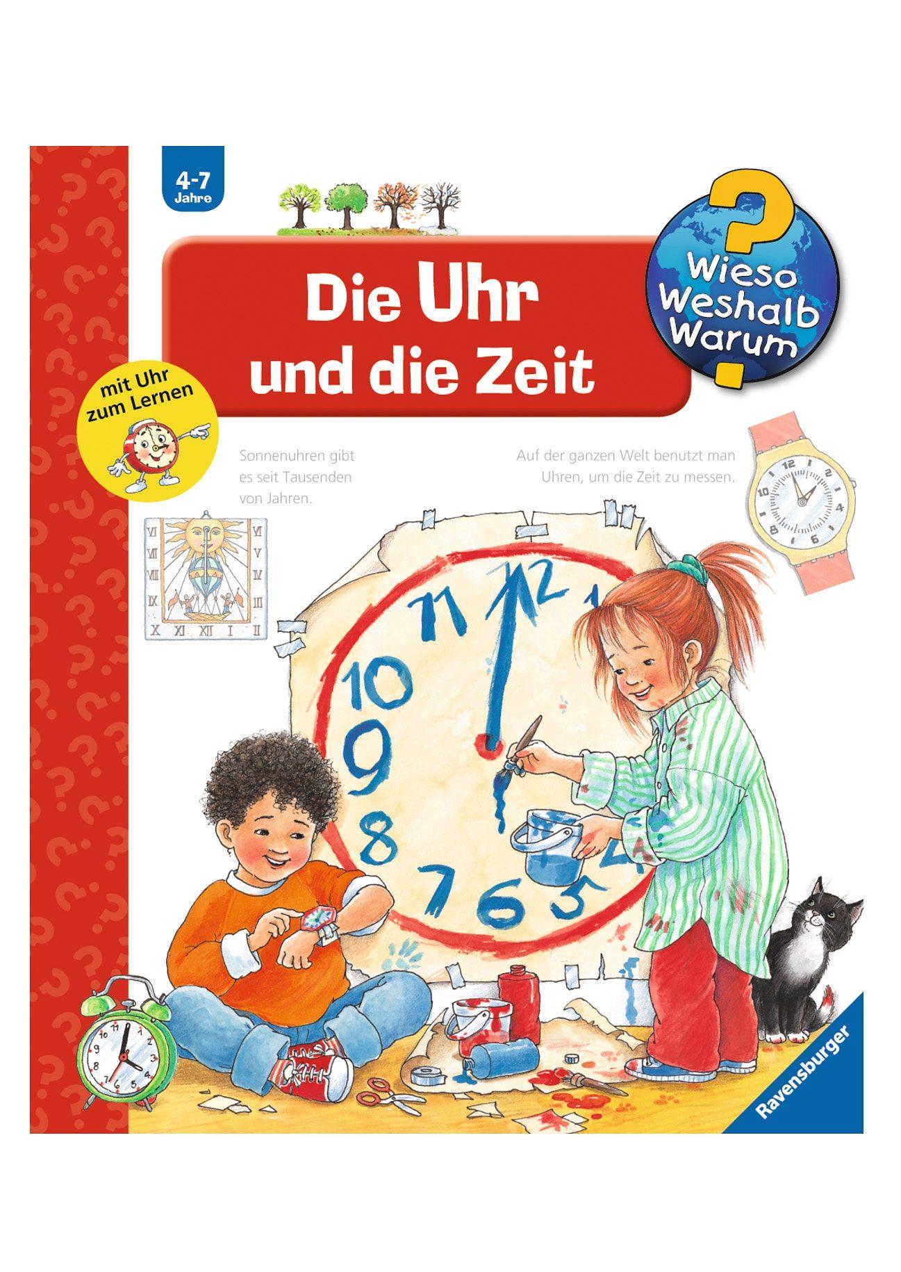 Ravensburger Kinderbuch, »Die Uhr und die Zeit / Wieso? Weshalb? Warum«