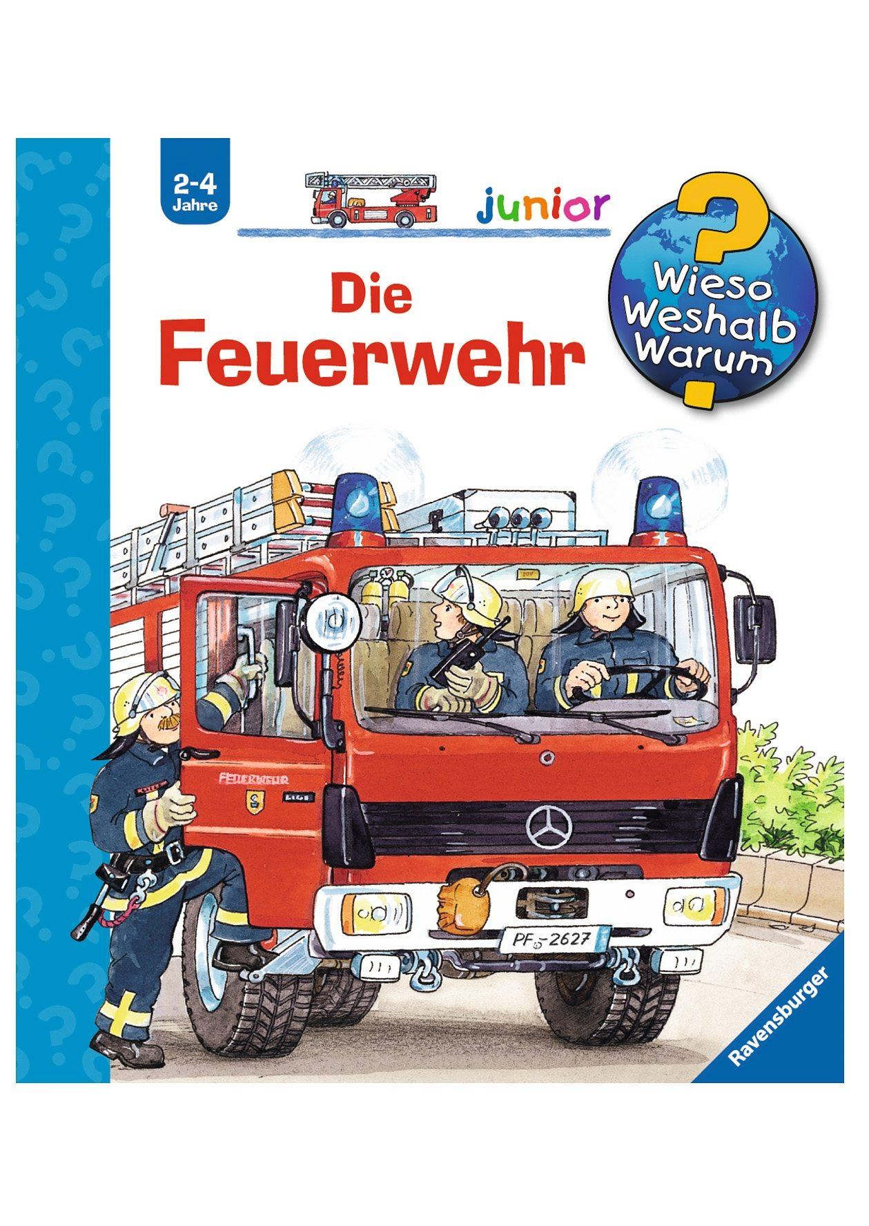 Ravensburger Kinderbuch, »Die Feuerwehr / Wieso? Weshalb? Warum? Junior®«