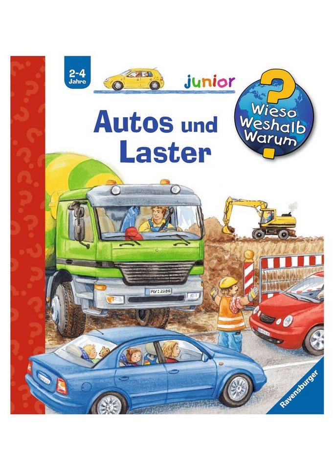 Ravensburger Kinderbuch, »Autos und Laster / Wieso? Weshalb? Warum? Junior«