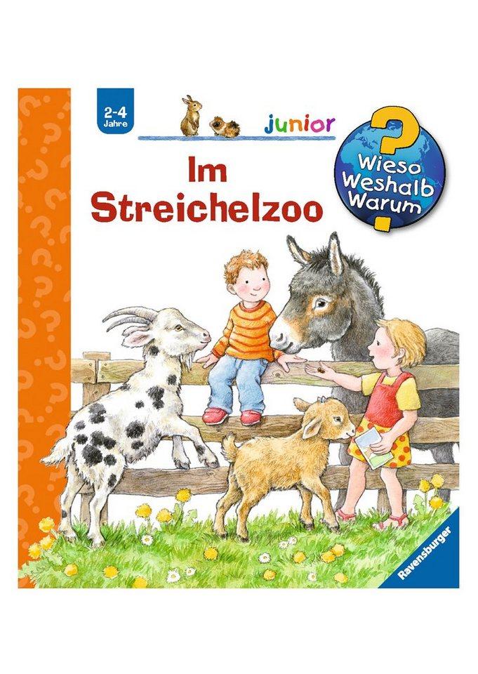 Ravensburger Kinderbuch, »Im Streichelzoo / Wieso? Weshalb? Warum? Junior«