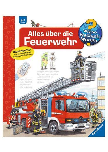 Ravensburger Buch »Alles über die Feuerwehr - Wieso? Weshalb? Warum?«