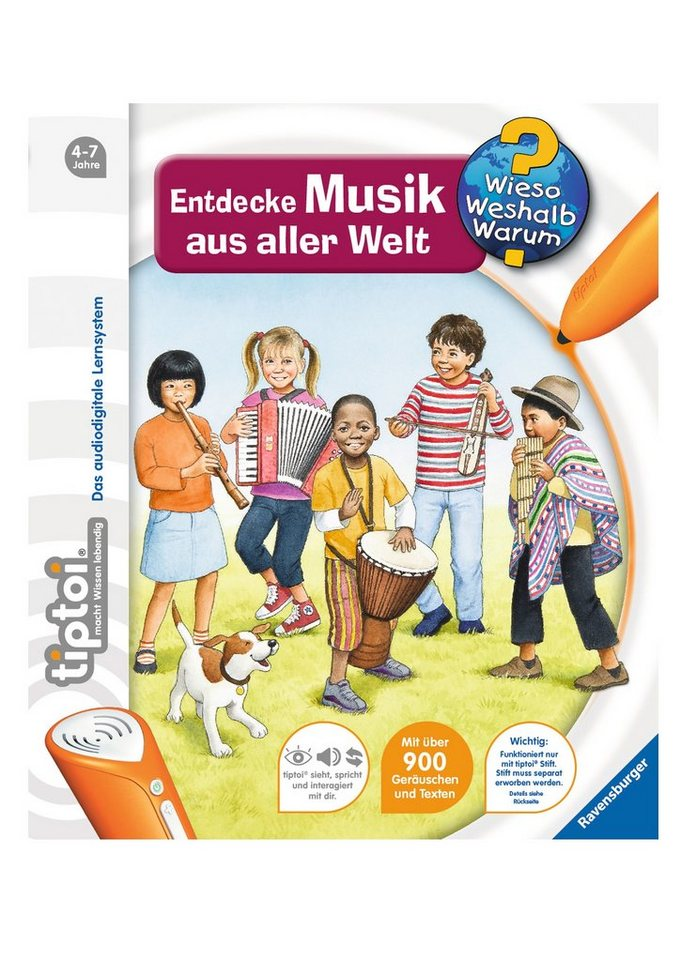 Ravensburger Buch, »tiptoi® Entdecke Musik aus aller Welt«