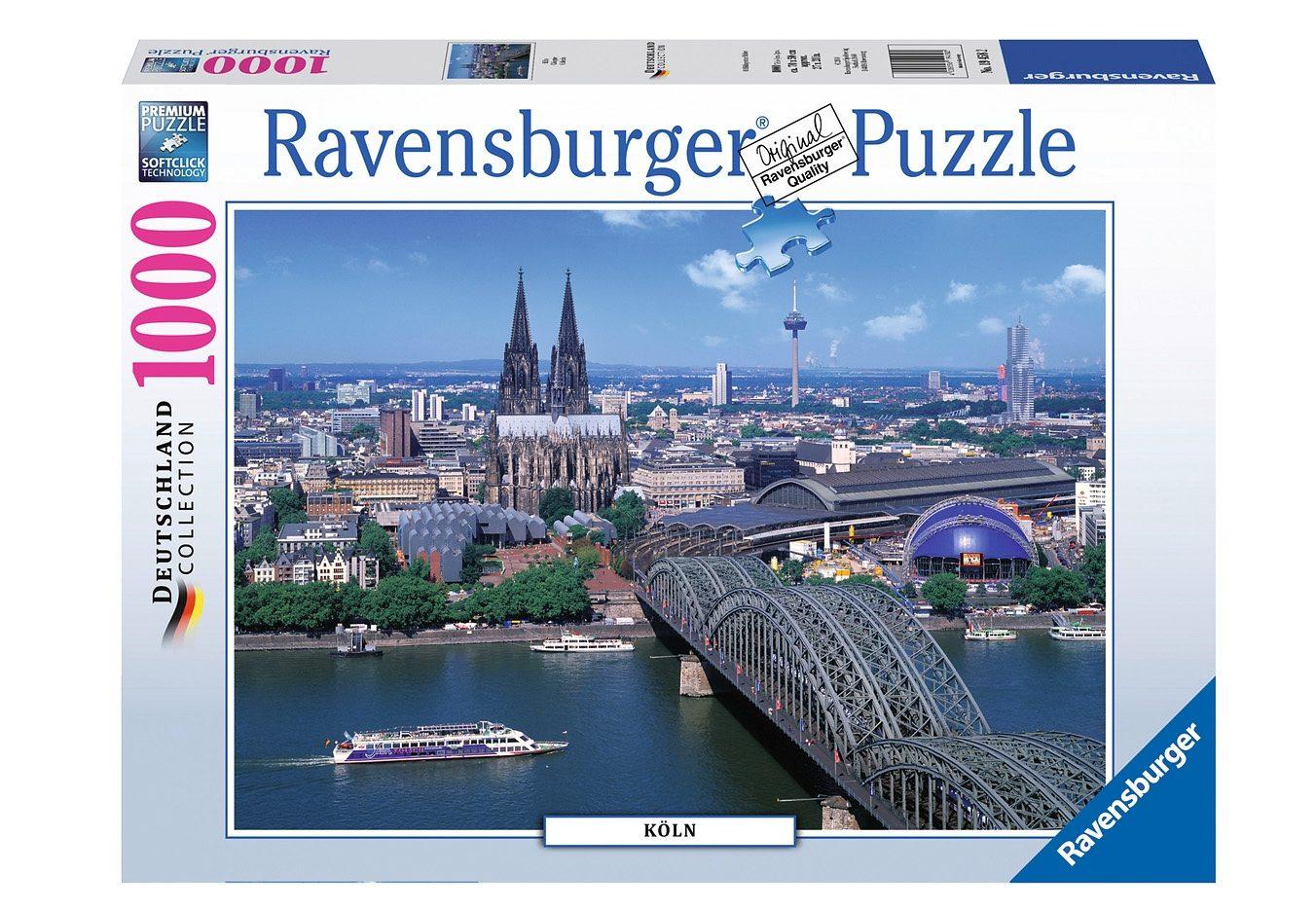 Ravensburger Puzzle 1000 Teile, »Köln«