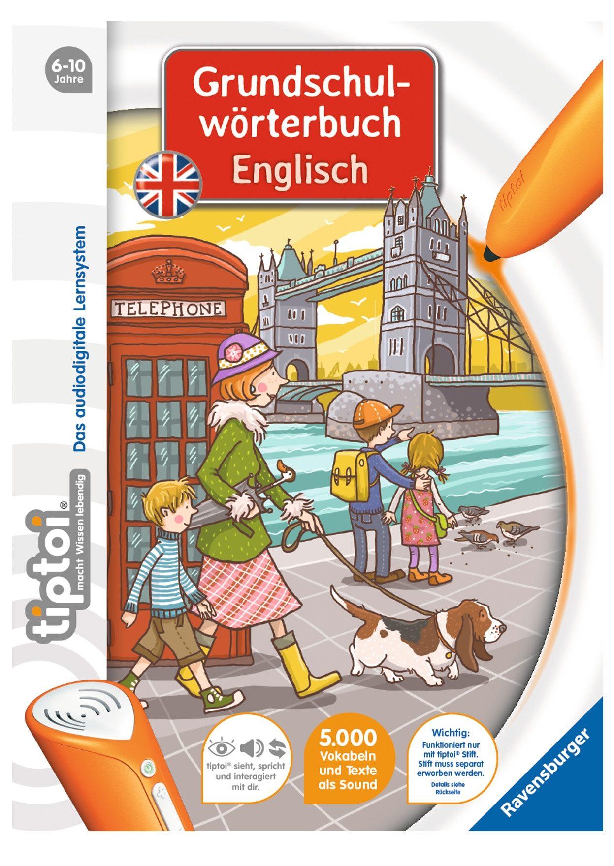 Ravensburger Buch, »tiptoi® Grundschulwörterbuch Englisch«