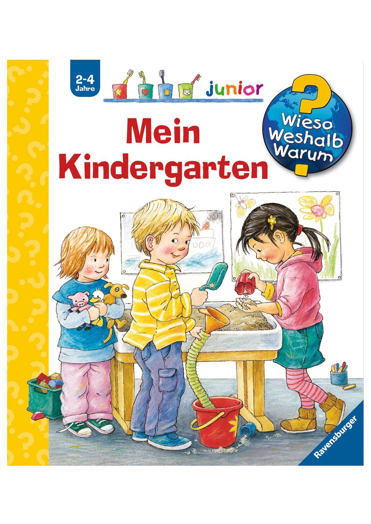 Ravensburger Kinderbuch, »Mein Kindergarten / Wieso? Weshalb? Warum? Junior«