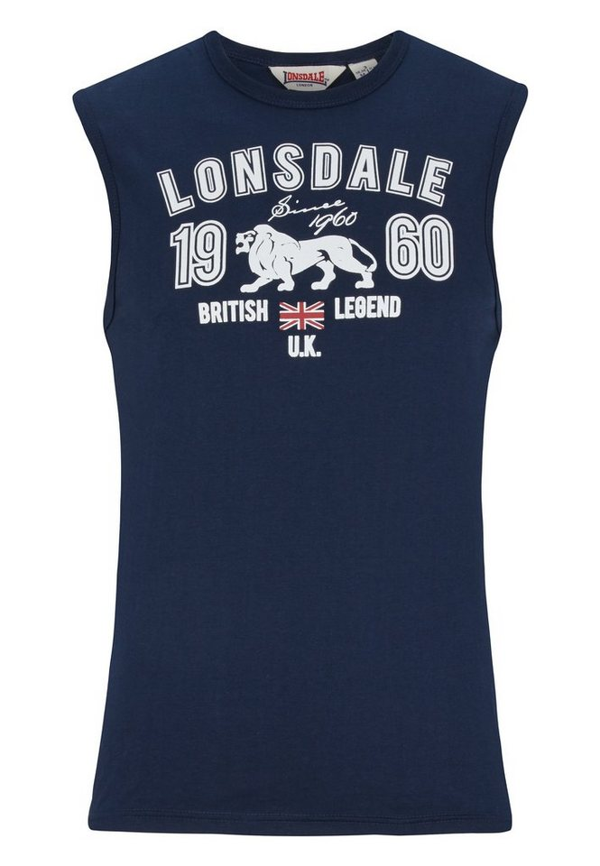 Lonsdale Muskelshirt in Navy