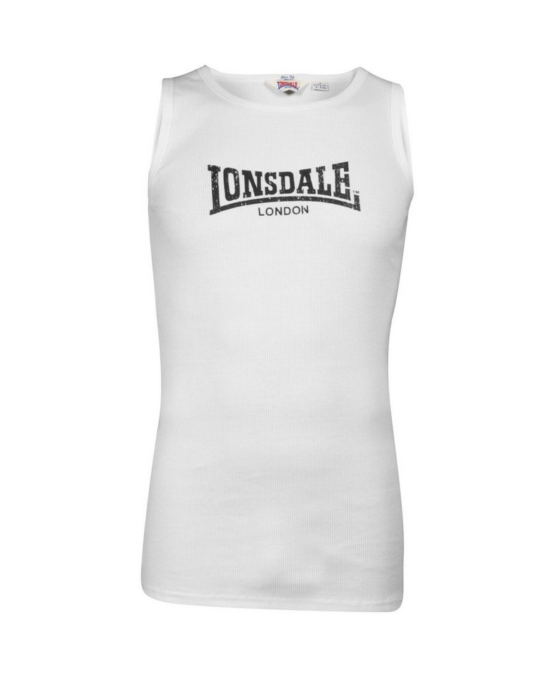 Lonsdale Muskelshirt GALAXY »GALAXY« in White