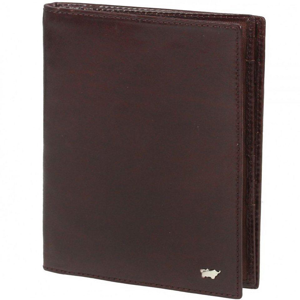 Braun Büffel Basic Geldbörse Leder 9,5 cm in palisandro