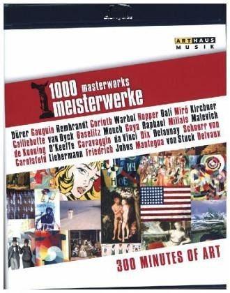 Blu-ray »1000 Meisterwerke -300 Minutes of Art, 1 Blu-ray«