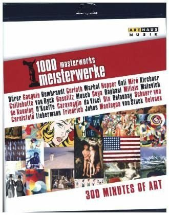Blu-ray »1000 Meisterwerke -300 Minutes of Art, 1 Blu-ray«