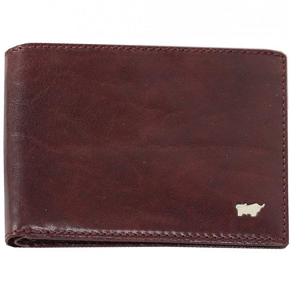 Braun Büffel Basic Geldbörse Leder 12 cm in palisandro
