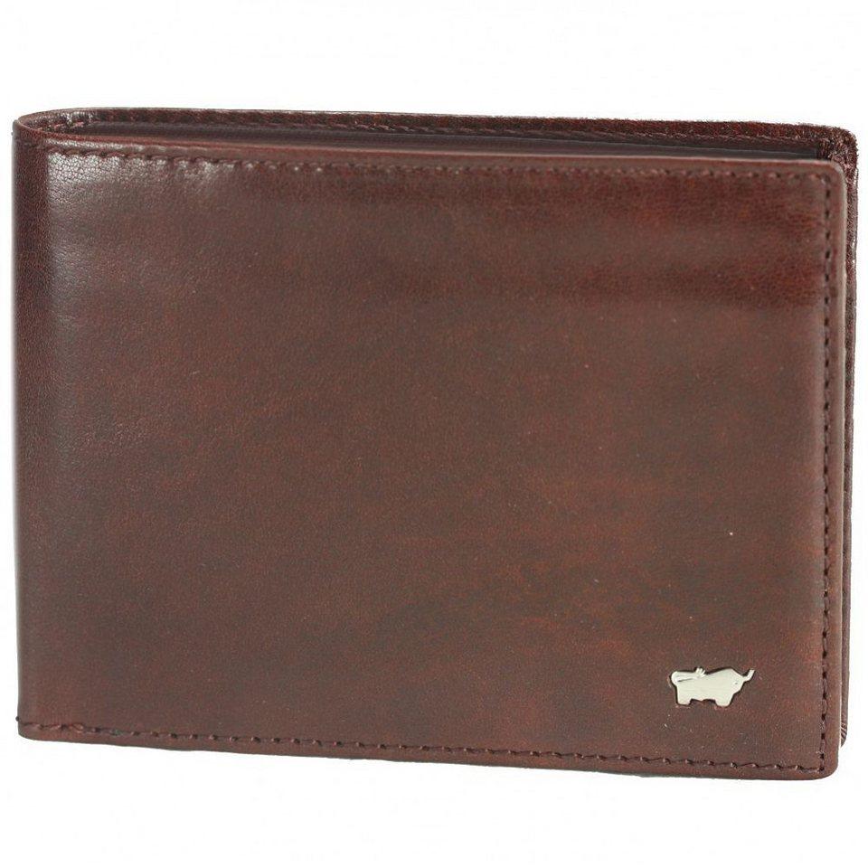 Braun Büffel Basic Geldbörse Leder 12,5 cm in palisandro