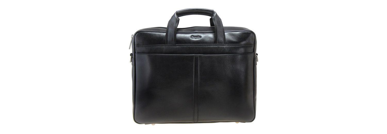 Esquire Business Aktenmappe Leder 37 cm Laptopfach