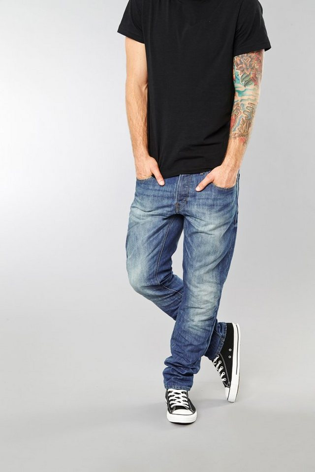Blend Blizzard regular fit jeans in Blau