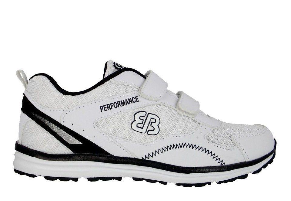 Brütting Joggingschuh / Laufschuh - weiß/schwarz »PERFORMANCE V« in weiß/schwarz