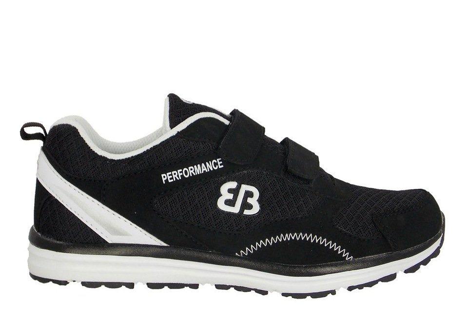 Brütting Joggingschuh / Laufschuh - schwarz/weiß »PERFORMANCE V« in schwarz/weiß