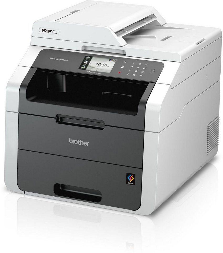 Brother Farblaser-Multifunktionsdrucker »MFC-9142CDN 4in1« in Grau