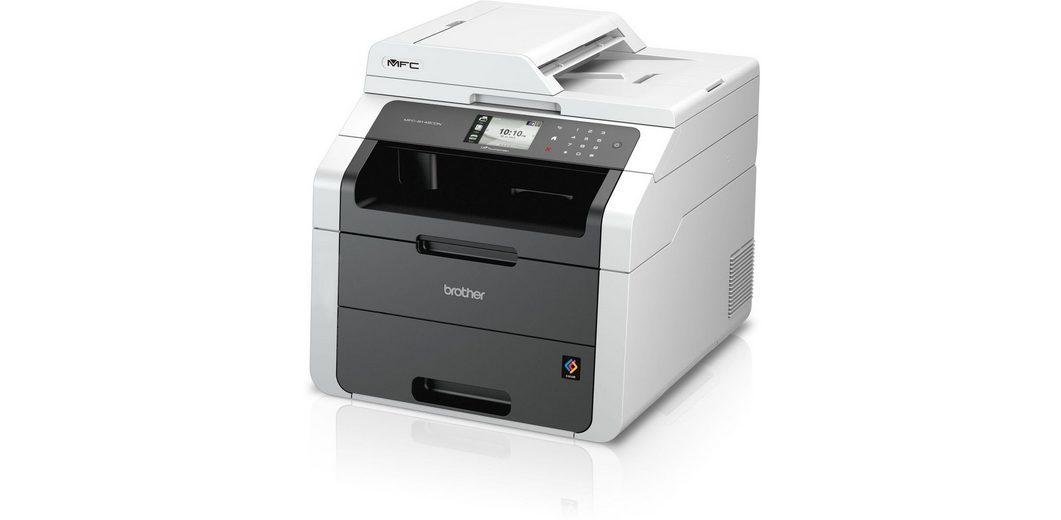Brother Farblaser-Multifunktionsdrucker »MFC-9142CDN 4in1«
