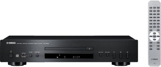 Yamaha »CD-S300« CD-Player (USB-Anschluss für iPod und andere Geräte am Bedienfeld)