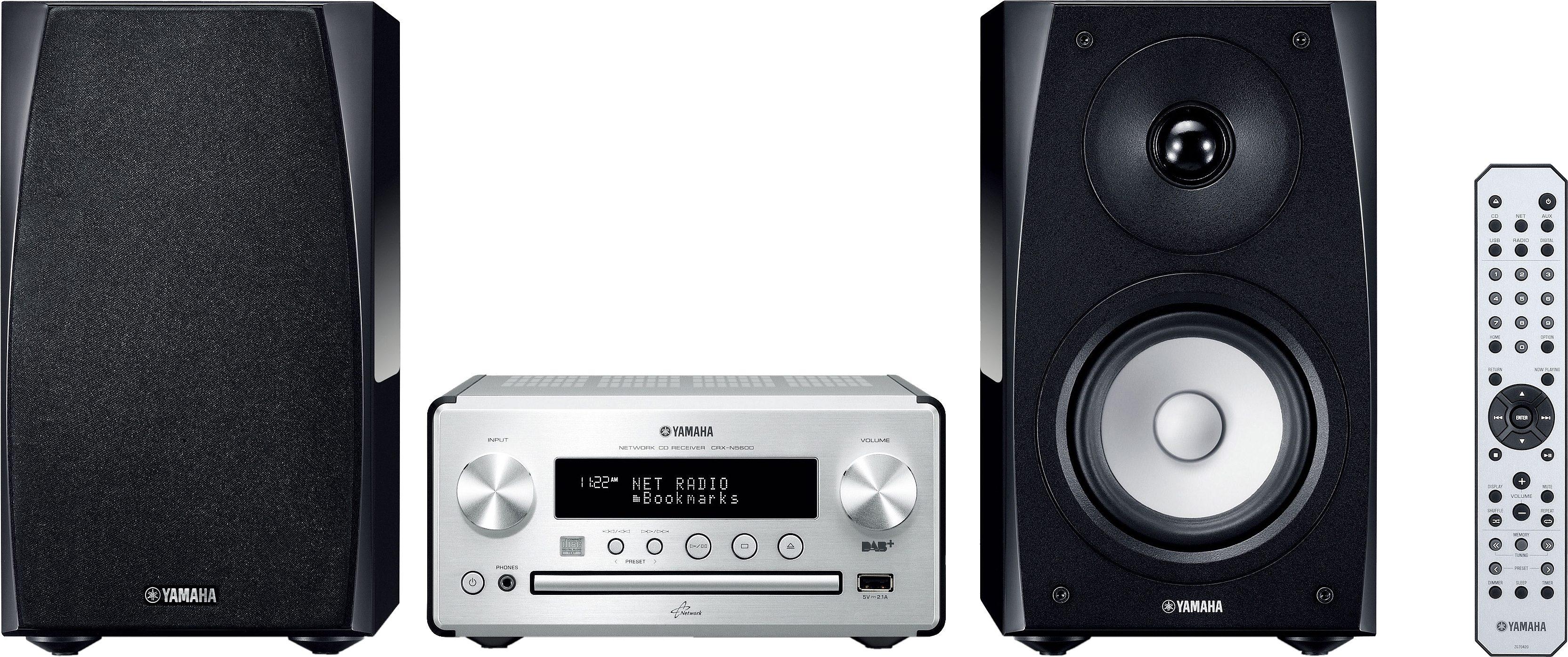 Yamaha PianoCraft MCR-N560D Kompaktanlage, Spotify, Airplay, DAB+