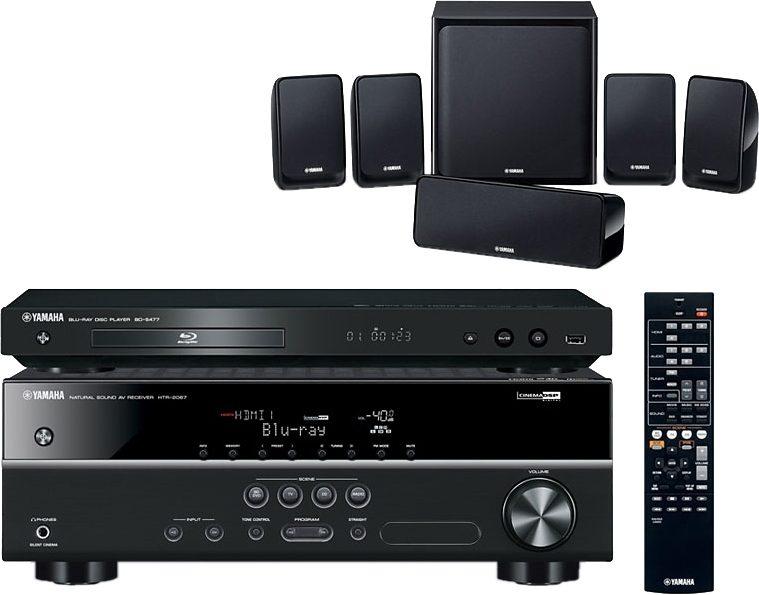 Yamaha BD-Pack 1810 5.1 Heimkinosystem (Blu-ray-Player, 600 W, WLAN)