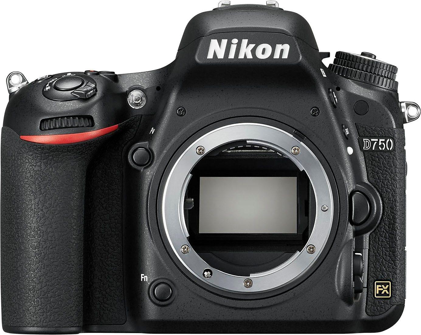 Nikon D750 Spiegelreflex Kamera, 24,3 Megapixel...