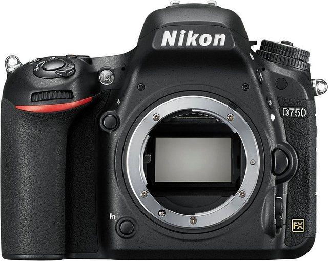 Spiegelreflexkameras - Nikon D750 Spiegelreflex Kamera, 24,3 Megapixel, 8 cm (3,2 Zoll) Display  - Onlineshop OTTO