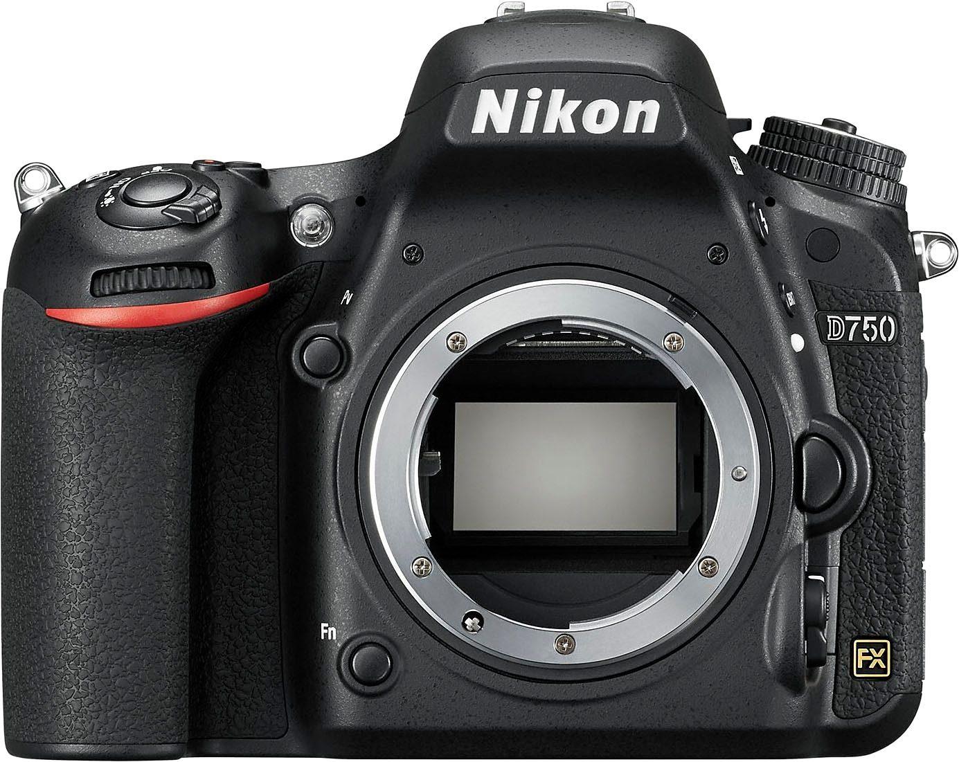 Nikon D750 Spiegelreflex Kamera, 24,3 Megapixel, 8 cm (3,2 Zoll) Display