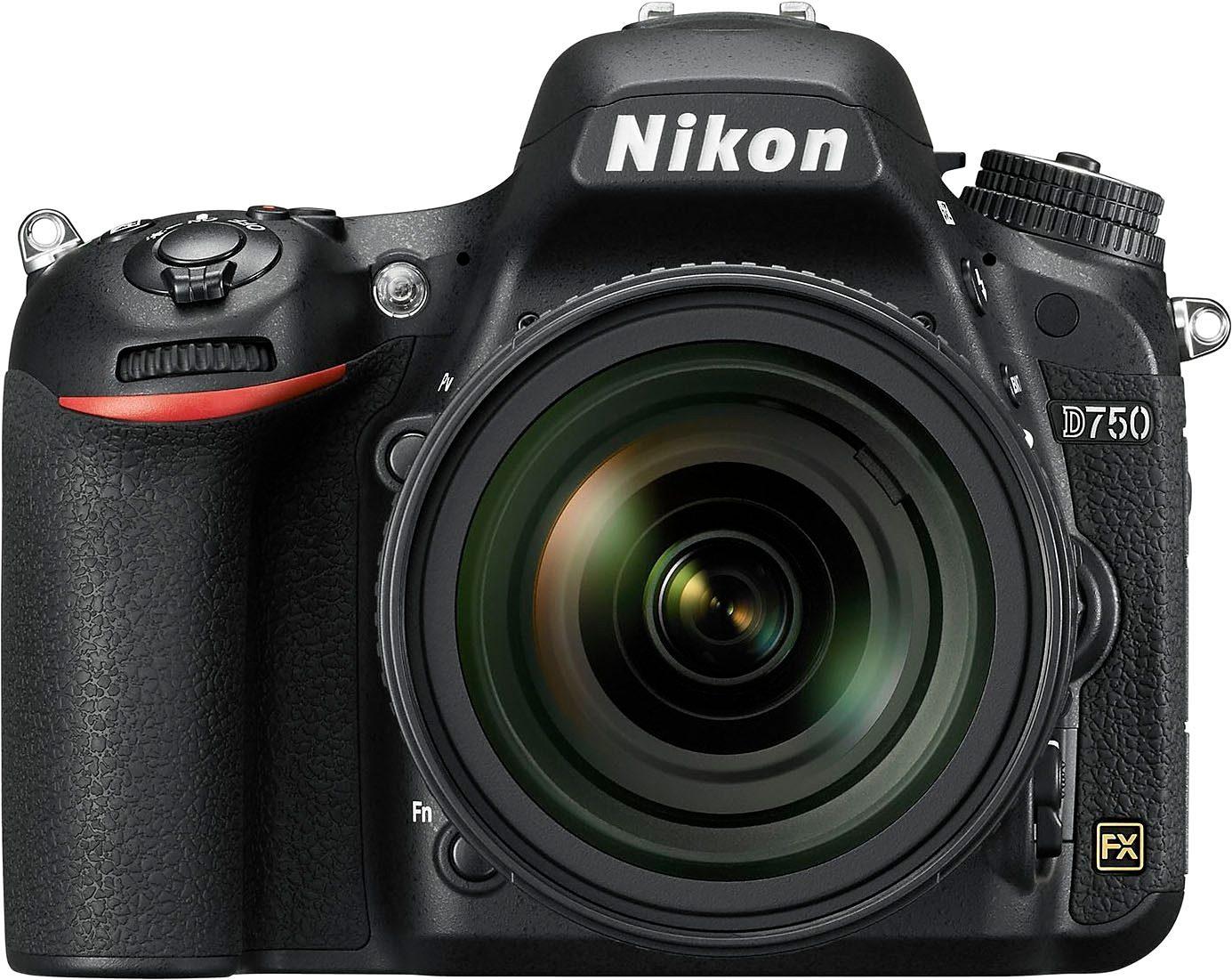 Nikon D750 Spiegelreflex Kamera, AF-S Nikkor 24-85 VR F3,5-4,5G ED, 24,3 Megapixel