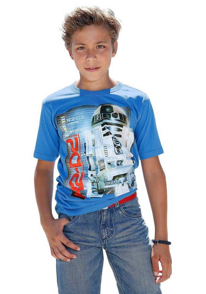 "Star Wars T-Shirt ""R2-D2"" in royalblau"
