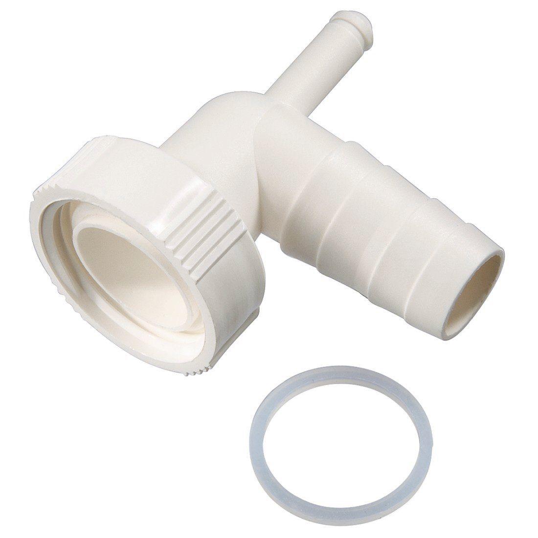 Xavax Dualer Siphonanschluss für Waschmaschine, Kondenstrockner