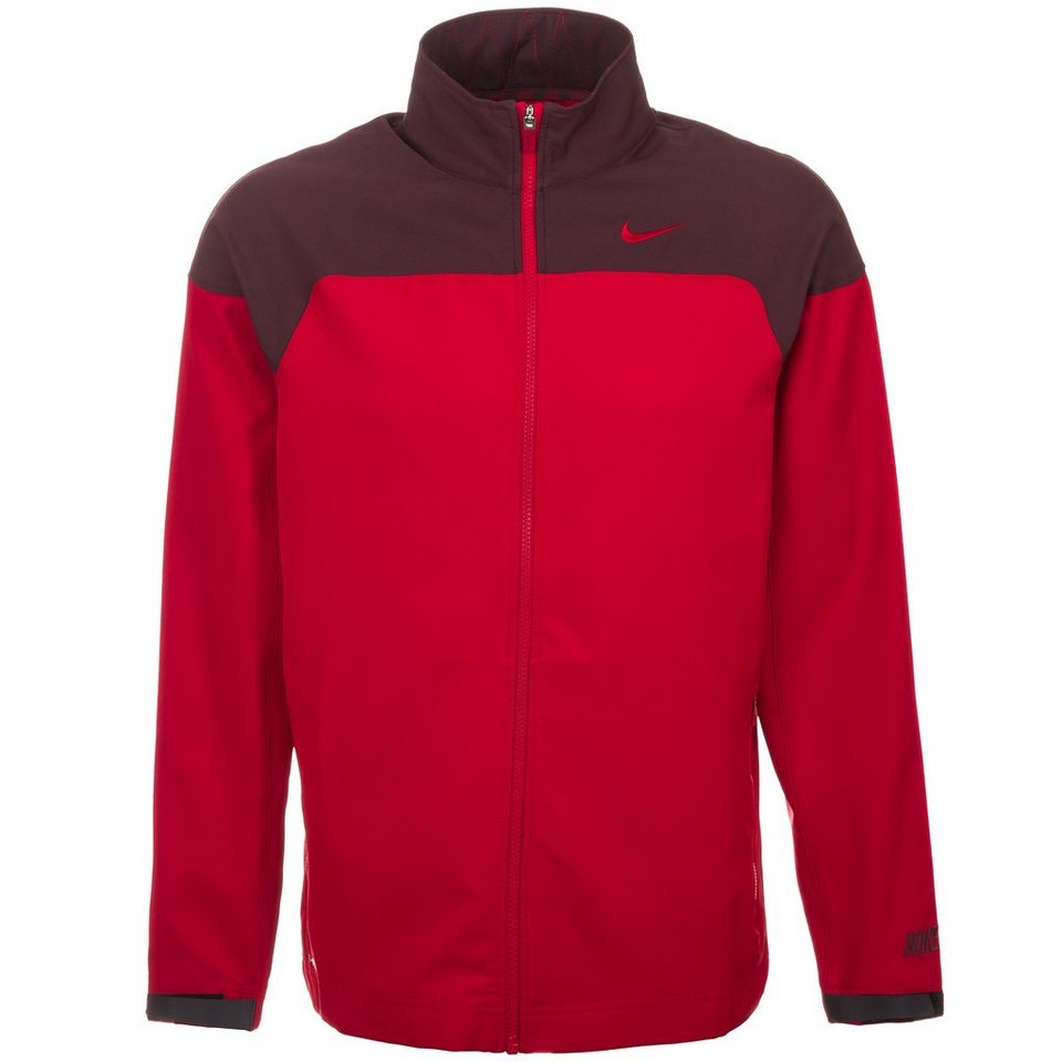 NIKE Speed Präsentationsjacke Herren in rot / dunkelrot