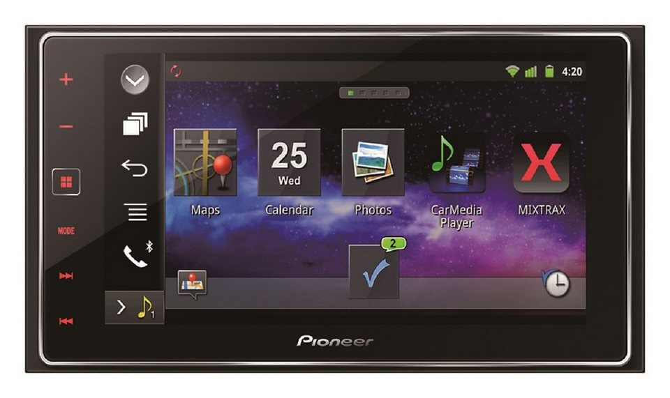 PIONEER 2-DIN AppRadio mit GPS »SPH-DA120« in schwarz