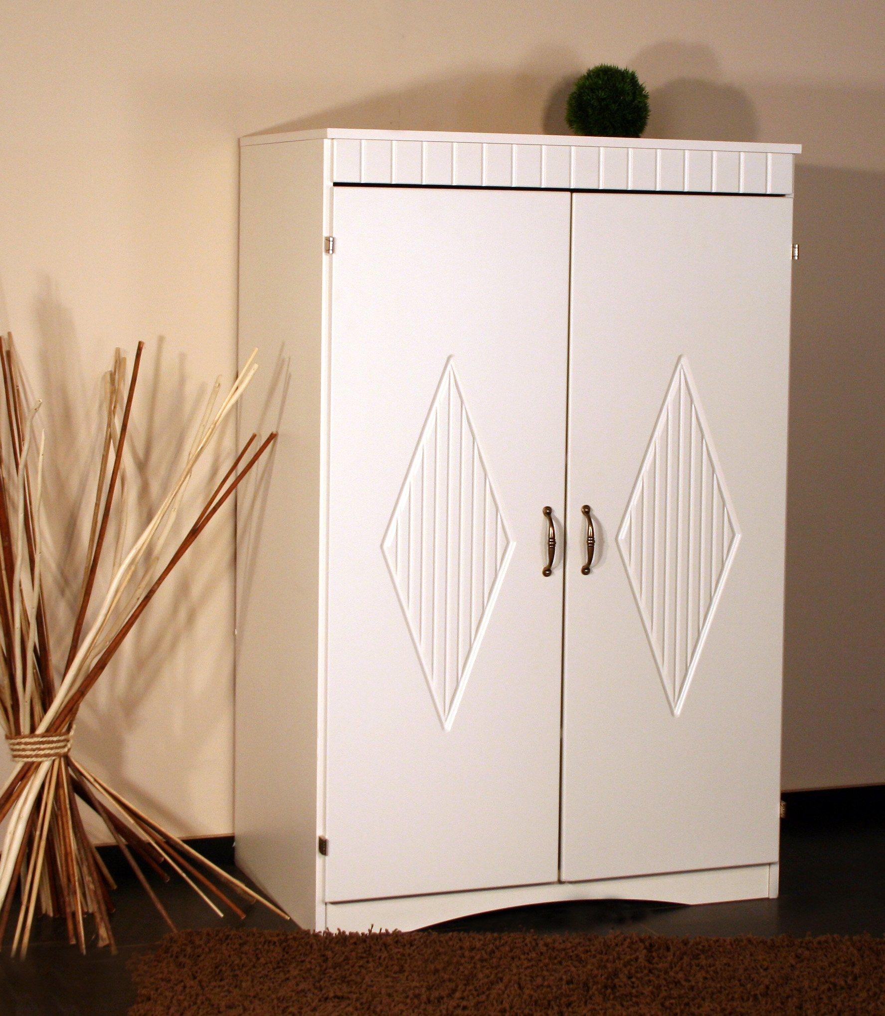 PC-Schrank »8055« mit eingefrästem Muster in den Türen