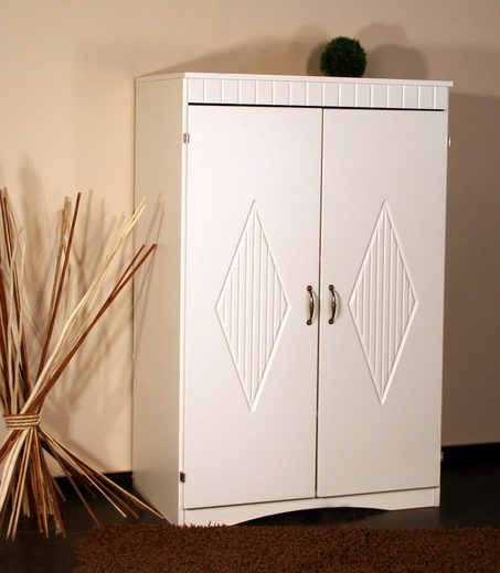 pc schrank 8055 mit eingefr stem muster in den t ren online kaufen otto. Black Bedroom Furniture Sets. Home Design Ideas