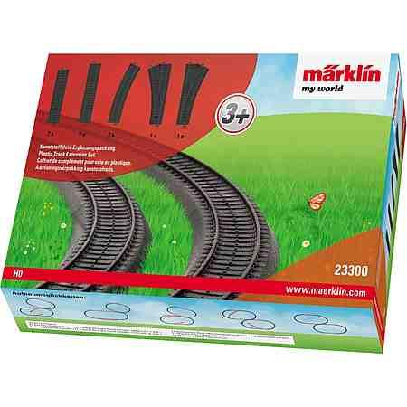 Märklin Schienenerweiterungsset, »Märklin my World - Ergänzungspackung Kunststoffgleis 23300«
