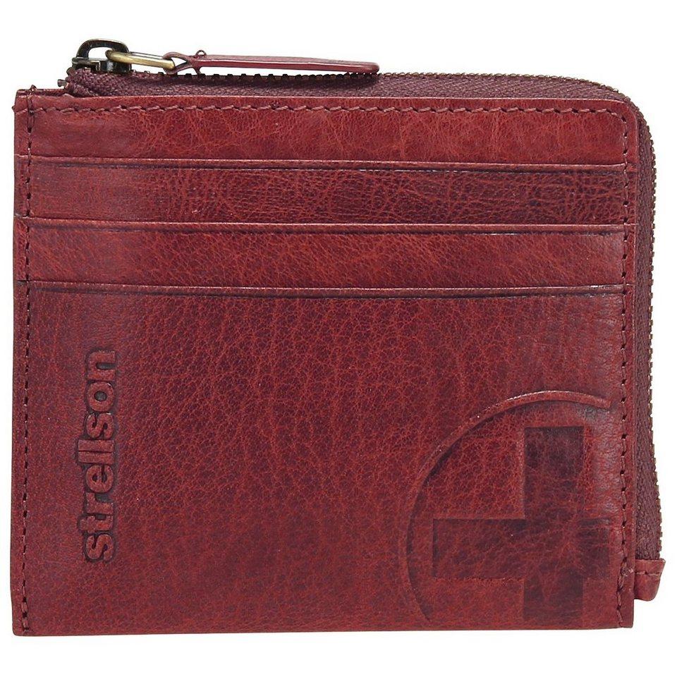 Strellson Edwyn Geldbörse Leder 10 cm in red