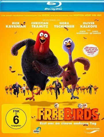 Blu-ray »Free Birds - Esst uns an einem anderen Tag«