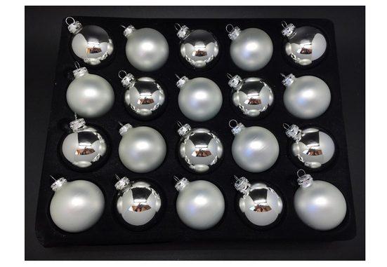 Thüringer Glasdesign Weihnachtsbaumkugel (20 Stück)