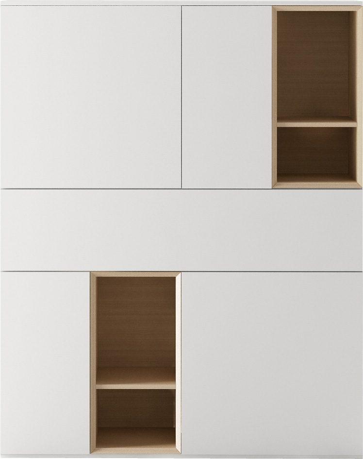 santa lucia Highboard, Breite 122,7 cm