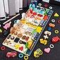 Arkmiido Lernspielzeug »Montessori Holznummern Puzzle Set« (Holz Spielzeug für Junge, Mädchen), Mathe Zahl Farbe Form Sortierbrett, Bild 1