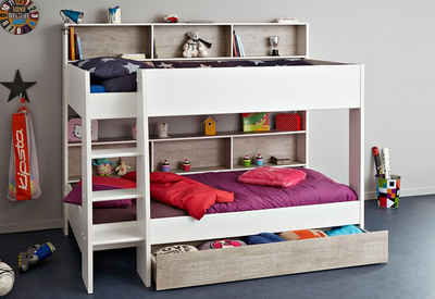hochbett zwei betten affordable hochbett blu aus buche massivholz mit und kommode teilig with. Black Bedroom Furniture Sets. Home Design Ideas