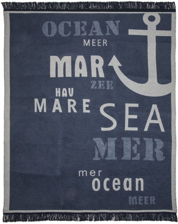 Wohndecke, Pad, »Sea«, maritimes Motiv