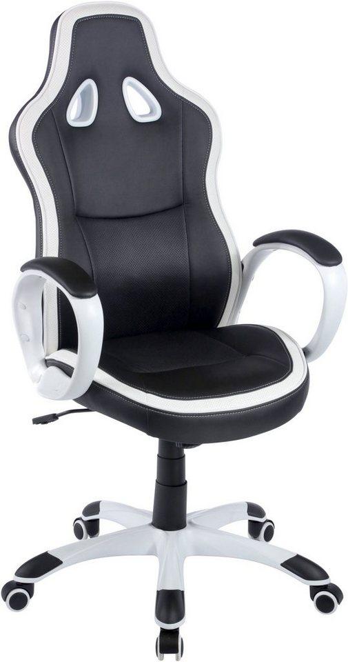 Duo Collection Gaming Chair »Spike« in schwarz-weiß