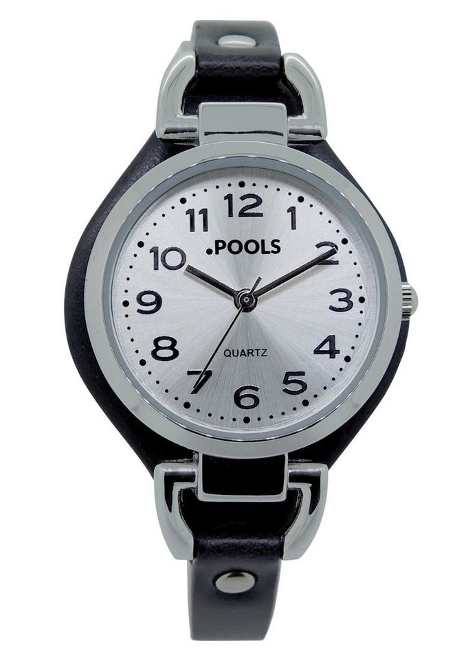 "Pools, Armbanduhr, ""1096"" in schwarz"