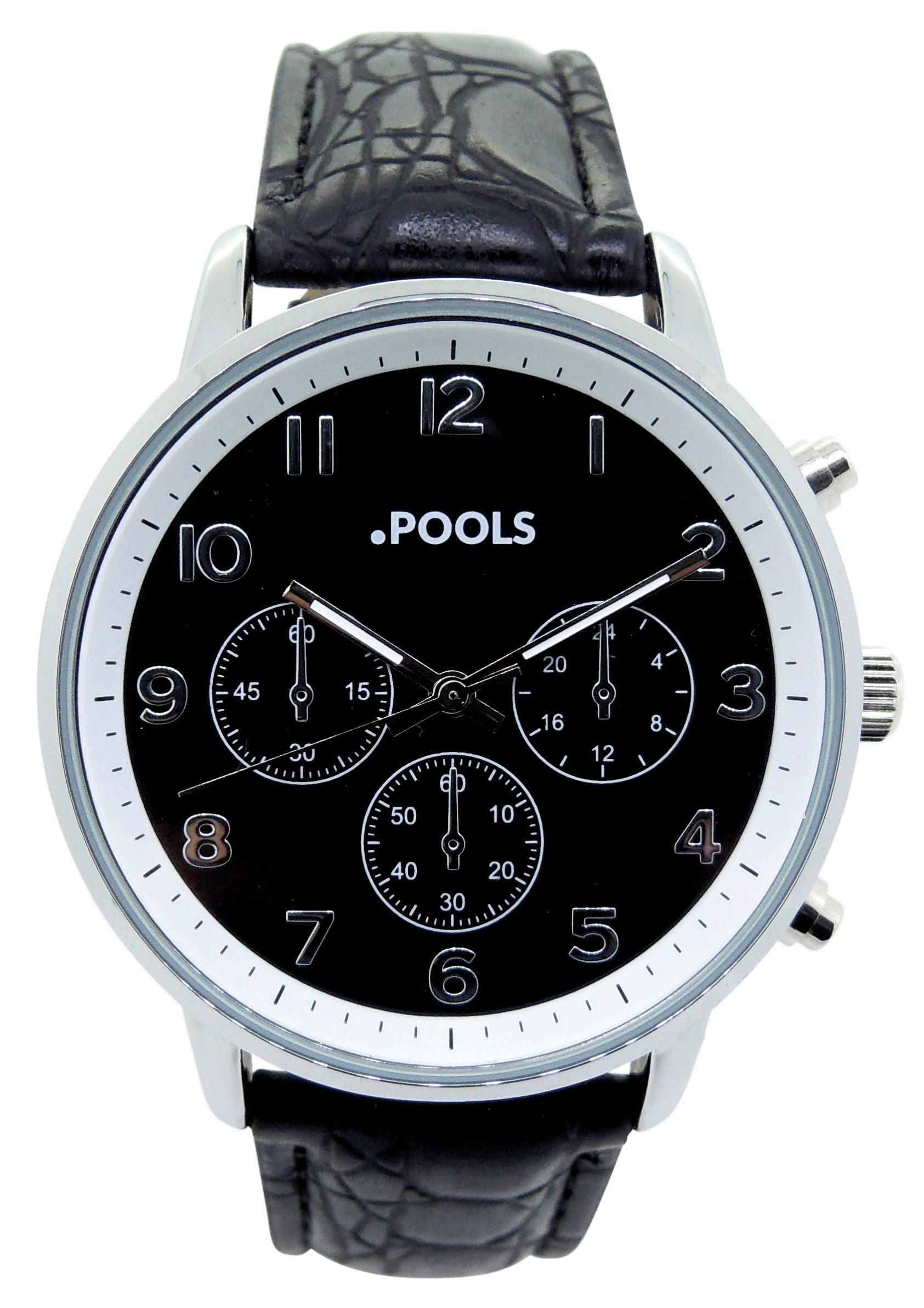 POOLS Quarzuhr »3046« in Chrono-Optik